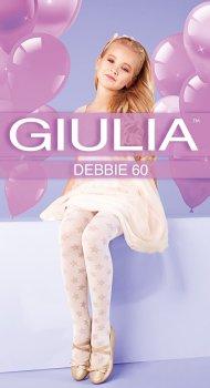 Колготки Giulia Debbie (3) 60 Den 92-98 см Bianco (4823102964959)
