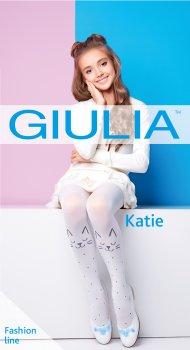 Колготки Giulia Katie 80 (2) 80 Den 116-122 см Bianco (4823102935515)