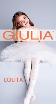 Колготки Giulia Lolita (1) 128/134 см Panna (4823102949512)