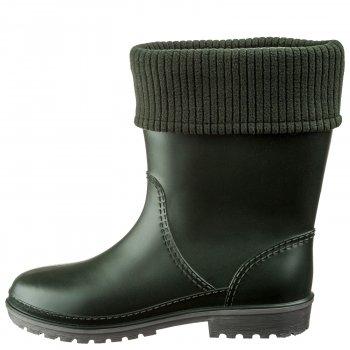 Полусапоги женские утепленные Casual Кеж-WIN 801 Зеленый-211 Ар.92119