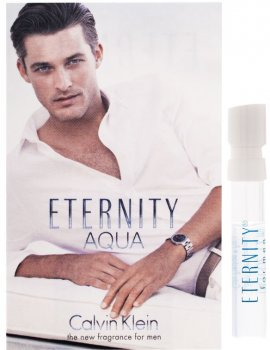 Пробник Туалетная вода для мужчин Calvin Klein Eternity Aqua 1 мл (3607340126048)