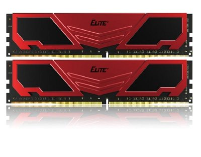 Модуль пам`яті DDR4 2x8GB/2400 Team Elite Plus Red (TPRD416G2400HC16DC01)
