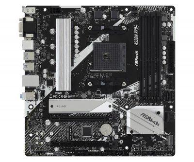 Материнська плата ASRock A520M Pro4 Socket AM4