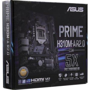 Материнська плата Asus Prime H310M-A R2.0/CSM Socket 1151