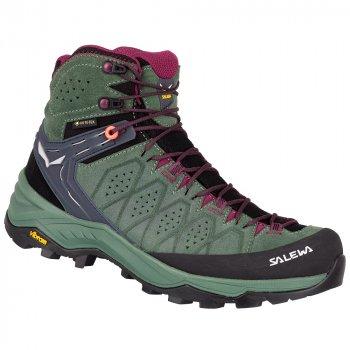 Черевики Salewa WS Alp Trainer 2 Mid GTX жіночі зелені