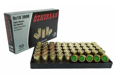 Холостий Патрон Ozkursan 9 mm 50 шт (револьверний)