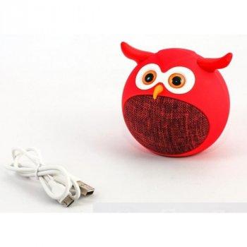 Колонка Bluetooth MB-M916 Сова (Красный)