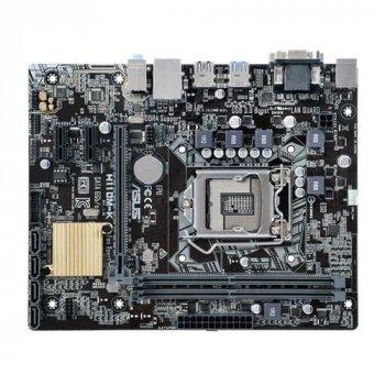 Материнська плата ASUS H110M-K (s1151, Intel H110, PCI-Ex16)
