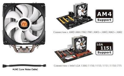 Охолодження процесора THERMALTAKE Contac Silent 12 (CL-P039-AL12BL-A)