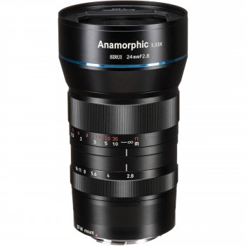 Об'єктив Sirui Anamorphic 24mm f/2.8 (Canon EF-M)