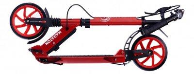 Двоколісний самокат Maraton NEW Leader з двома амортизаторами і ручним гальмом (червоний)