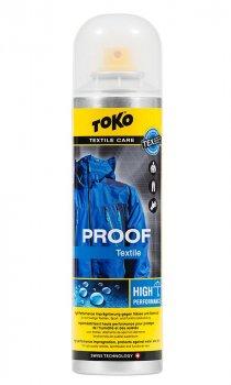 Водовідштовхувальне просочення для одягу Toko Textile Proof 250 ml (5582620)