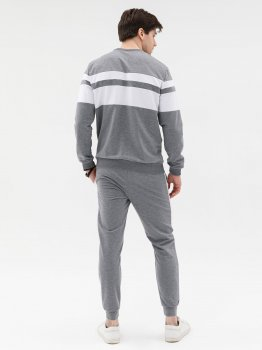 Спортивний костюм ISSA PLUS GN-428_сірий Сірий