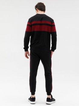 Спортивный костюм ISSA PLUS GN-428_черный Черный