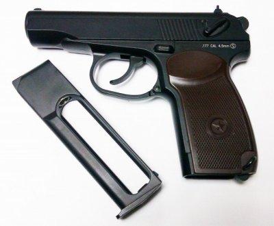 Пневматичний пістолет KWC Makarov PM ( KM44DHN )
