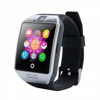 Розумні Смарт-годинник Smart Watch Q18 Black Plus MicroSD до 32 Gb Android iOS GSO 315-573