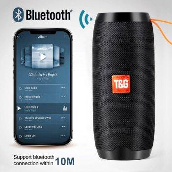 Bluetooth-колонка TG106, Потужністю 10W, Акумулятор 1200mAh Black