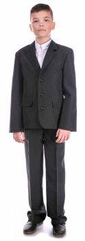 Классический пиджак Nega Нега для мальчика, черный (ШФН000121_40)