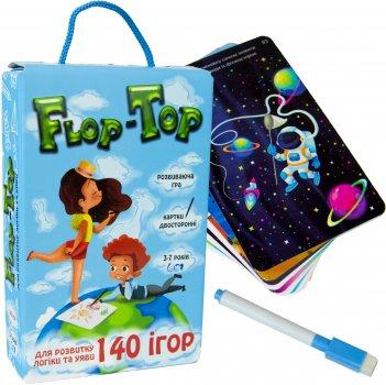 Настільна розвивальна гра Strateg Flop-Top (укр) (30868)