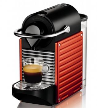 Капсульна кавоварка Nespresso Pixie Electric Red