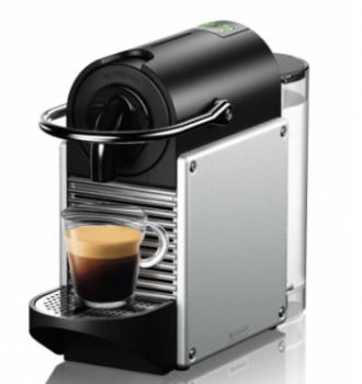 Капсульная кофемашина Nespresso Pixie Electric Aluminium