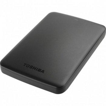 """Накопичувач зовнішний HDD 2.5"""" USB 1.0TB Toshiba Canvio Basics Black (HDTB410EK3AA)"""