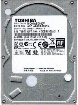 """Накопичувач HDD 2.5"""" SATA 500GB Toshiba 5400rpm 8MB (MQ01ABD050V)"""