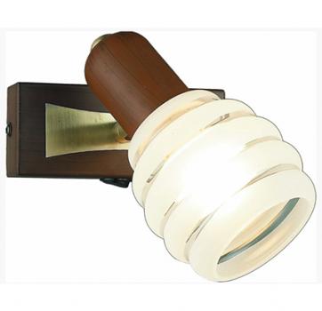 Бра INL-9269W-01 Antique brass & Walnut