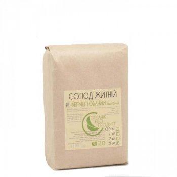 Солод житній білий не ферментований Organic Eco-Product, 5 кг