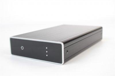 """Накопичувач зовнішний HDD 3.5"""" USB 3ТB TrekStor DataStation Maxi Metal (TS35-3000KLB)"""