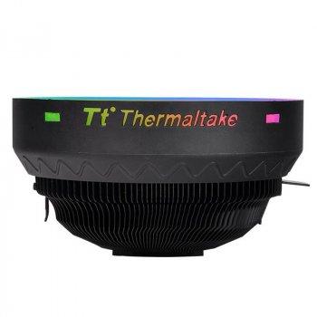 Кулер процессорный Thermaltake UX100 ARGB Lighting (CL-P064-AL12SW-A), Intel: 775/1150/1151/1155/1156 AMD: FM2/FM1/AM3/AM3+/AM2+/AM2/AM4, 122.3х122.3х66.1 мм, 3-pin