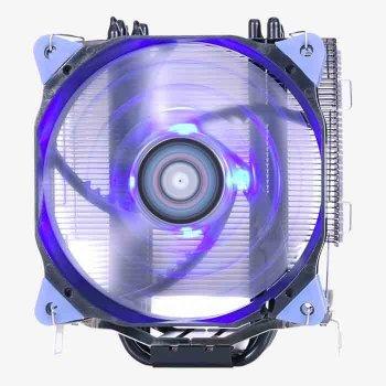 Кулер процессорный Aerocool Verkho 5 Dark, Intel:2066/2011/1156/1155/1151/1150/775, AMD:AM4/AM3+/AM3/AM2+/AM2/FM2/FM1, 156.5х123х73, 4-pin