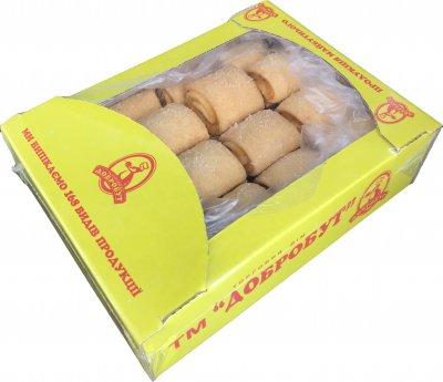 Печенье песочное Добробут Абрикосовый Рай 1.2 кг 2 шт х 600 г (4820007050633)