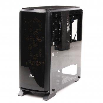 Корпус Frime Magneto RGB LED HUB без БЖ (Magneto-U3-GLS-4RDRF)