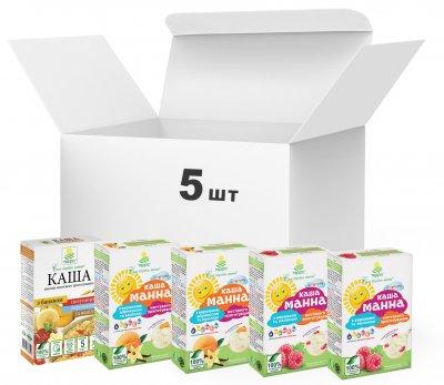 Упаковка каш Терра Mixed Fruit Porridge Happy Childhood 5 шт. (4820015736970)