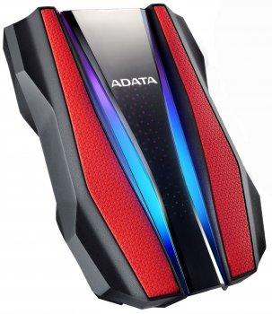 "Жорсткий диск ADATA HD770G 1TB AHD770G-1TU32G1-CRD 2.5"" USB 3.2 Gen1 External Red"
