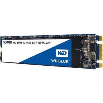 Накопичувач SSD M. 2 2280 500GB WD (WDS500G2B0B)