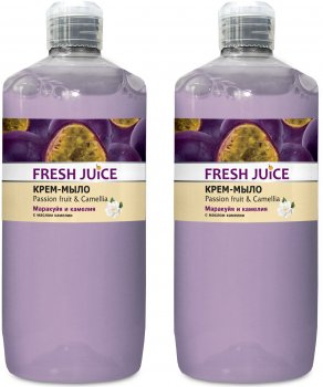 Набор Fresh Juice Крем-мыло Passion Fruit&Camellia 1 л х 2 шт (49000064)