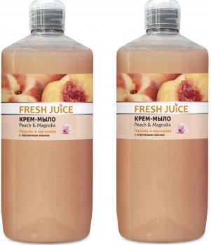 Набор Fresh Juice Крем-мыло Peach&Magnolia 1 л х 2 шт (49000065)