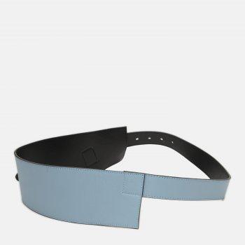 Женский ремень кожаный Sergio Torri 16-0039 серо/гол 120 см Серо-голубой (2000000023540)