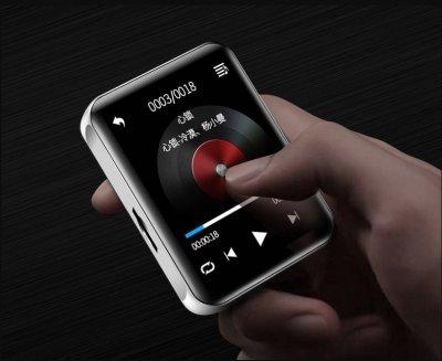 MP3-плеер Ruizu M4 Pro HI-FI 8Gb сенсорный Чёрный