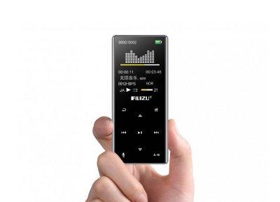 MP3-плеер Ruizu D29+ Bluetooth 4Gb с Серебристый