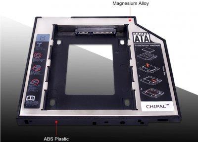 Кишеня-адаптер OptiBuy AP для підключення 2.5 HDD/SSD SATA 3.0 12.7 mm
