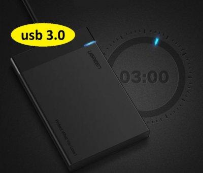 "Внешний карман Ugreen US221 Original USB 3.0 (30847) SATA для HDD 2.5"""
