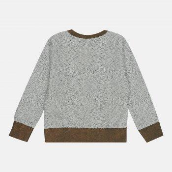 Кофта Tom-Du NELLA Біло-коричнева