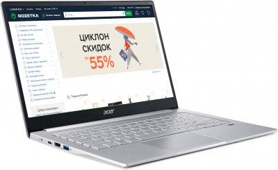 Ноутбук Acer Swift 3 SF314-59-30GR (NX.A0MEU.005) Pure Silver