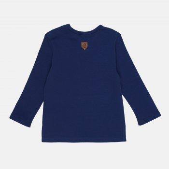 Футболка с длинными рукавами Бемби ФБ595 245950111-8X0 Синяя с серым