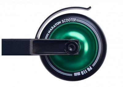 Самокат трюковий Maraton трюкової самокат, ar. 26550, зелений