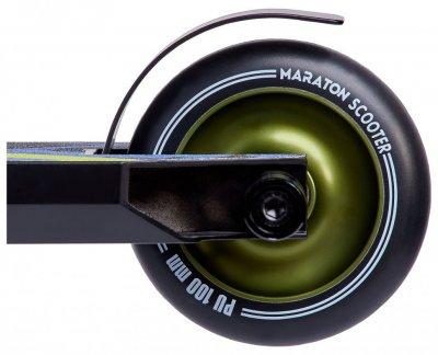 Самокат трюковий Maraton трюкової самокат, ar. 26554, зелений