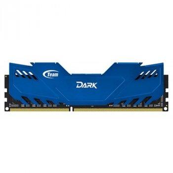 DDR3 8GB/1600 Team Dark Series Blue (TDBED38G1600HC9BK)